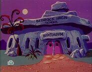 The Flintstone Comedy Hour - Bedrock High School Auditorium from Cinderella
