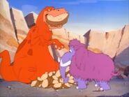 Tyrannosaurus and Mammoth - I Yabba-Dabba-Do!