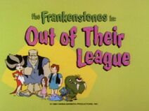The Flintstone Comedy Show - Episode Title Card - Out of Their League
