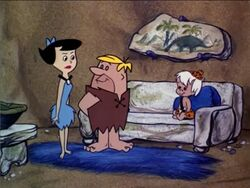 The Flintstones - Little Bamm-Bamm - Bamm-Bamm with Betty and Barney