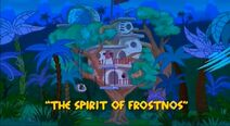 Yabba-Dabba Dinosaurs - The Spirit of Frostnos - Episode Title Card
