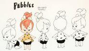 The Flintstones - Original Model Sheet - Pebbles Flintstone - 4