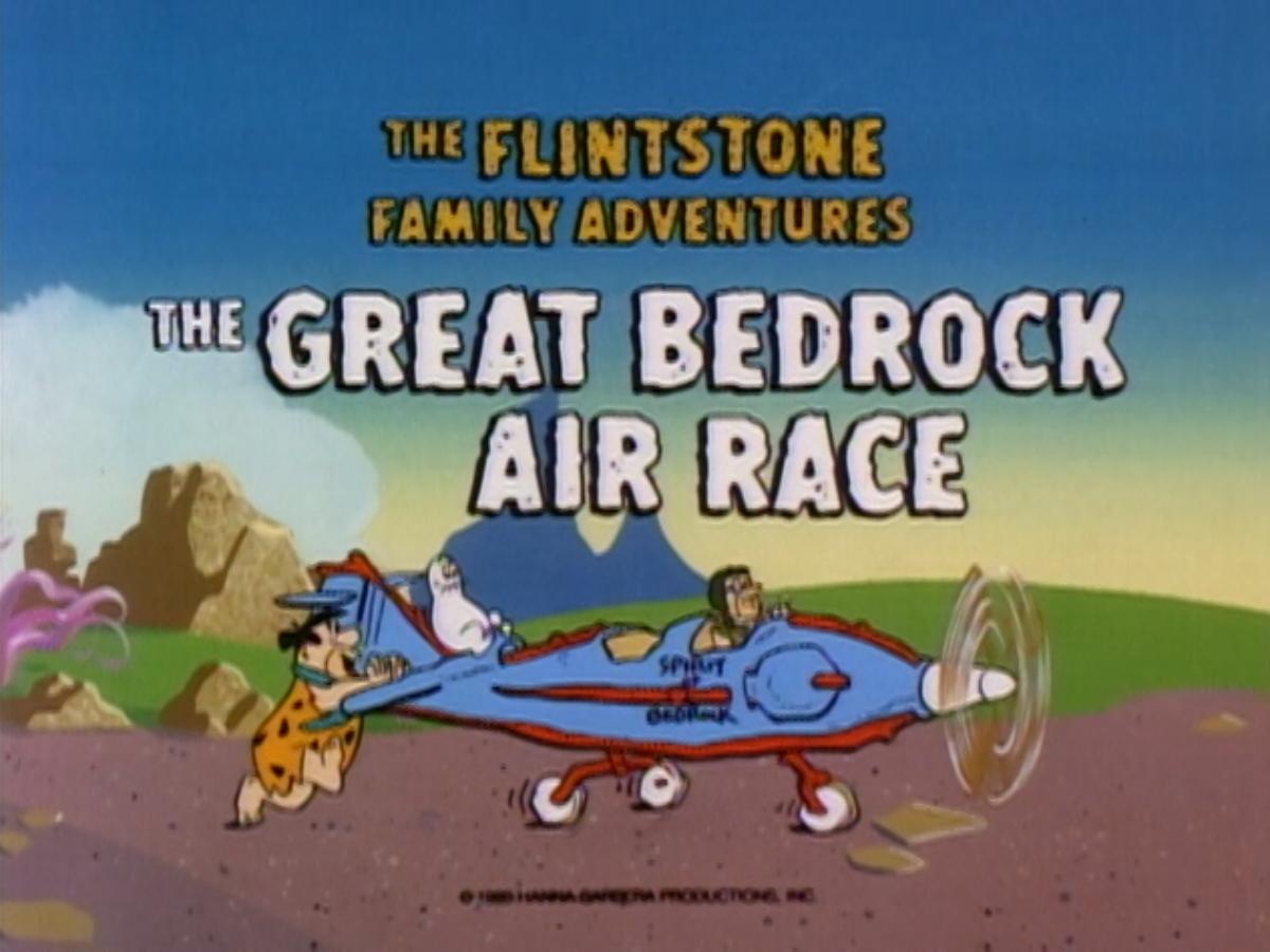 The Great Bedrock Air Race   The Flintstones   FANDOM powered by Wikia