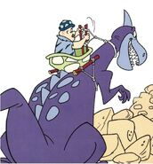 The Flintstones' Wacky Inventions - Tyrannosaura-Crane