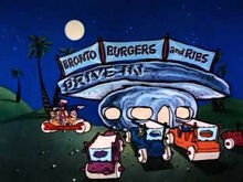 Bronto Burgers and Ribs Drive In