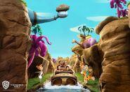 The Flintstones Bedrock River Adventure