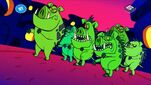 Yabba Dabba-Dinosaurs - Dawn of the Disposals - Garbage Disposal Zombies