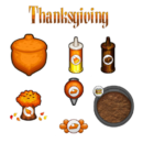 Papa s donuteria thanksgiving by mokamizore97-d7mwwrn