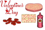 Valentine's Day Ingredients - Cheeseria