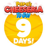 Countdown 9 sm cheese to go