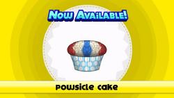 Pastel de Powsicle