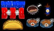 Starlight BBQ Ingredients - Taco Mia HD