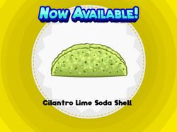 Cilantro Lime Soda Shell