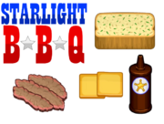 Starlight BBQ Ingredients - Cheeseria