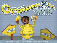 Kingsley's Customer Palooza 2018 - Vote