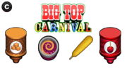 PWTG! - Big Top Carnival Ingredientes
