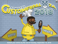 Kingsley's Customer Palooza 2018 - Create