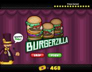 Mini Game - Burgerzilla