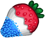 Dipped strawberrytrans