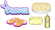 Easter Ingredients - Cheeseria