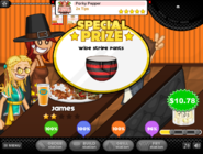 Prize for Porky Pepper