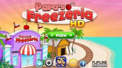 Papa's Freezeria HD - Intro Día 1 & 2
