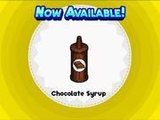 Unlocking chocolate syrup