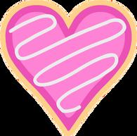 Galleta de Corazón