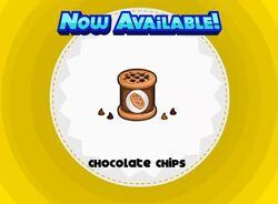 Unlocking chocolate chips