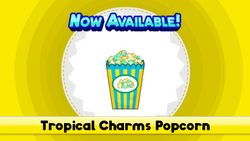 Tropical Charms Popcorn (HTG)