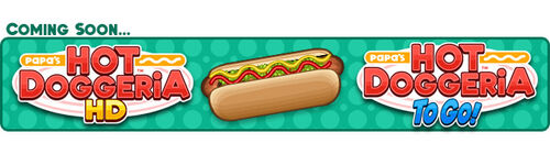 Papa's Hot Doggeria To Go! Blog Banners