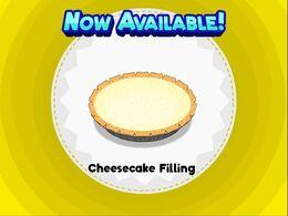 Unlocking cheesecake filling