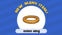 Onion ring-