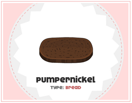 Pumpernickel cheese