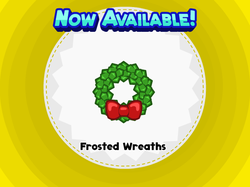Frosted Wreaths