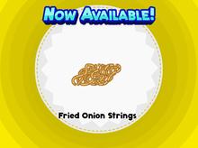 Fried Onion String Sushi