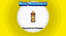 Passionfruit Drizzle