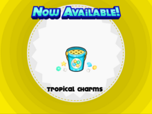 Tropical Charms Cup