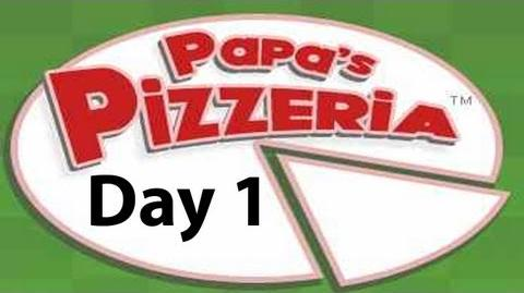 "Let's Play ""Papa's Pizzeria"" Day 1"