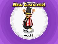Nuevo cliente Foodini durante Big Top Carnival