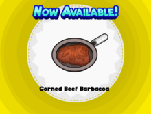 Corned Beef Barbacoa THD