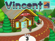 Vincent outside