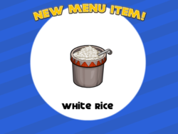 White Rice Taco Mia