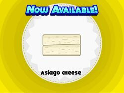 Unlocking asiago cheese