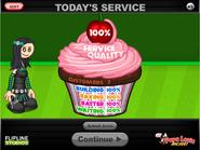 Perfect cupcake