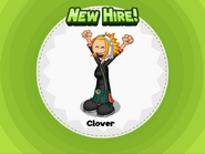 New Hire! Clover