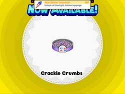 Crackle Crumbs