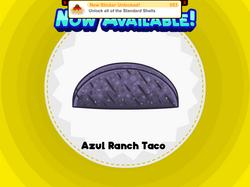 Azul taco