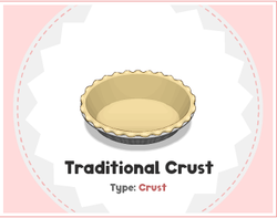 Traditional crust