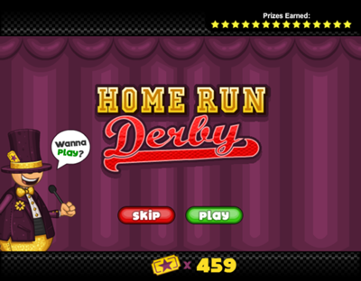 Mini Game - Home Run Derby